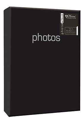 Black Album (6x4'') Holds 80 Photos Gift Picture Photo Book