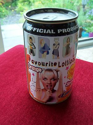 Spice Girl - Chupa Chups Favourite Lollipops Tin - Official Product - 1997