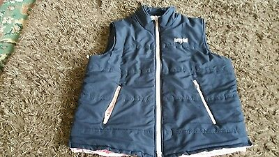 girls harry hall junior gilet age 12