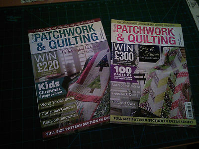 Patchwork and Quilting magazines