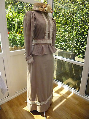 3 Piece Victorina Costume Including Hat Size 18