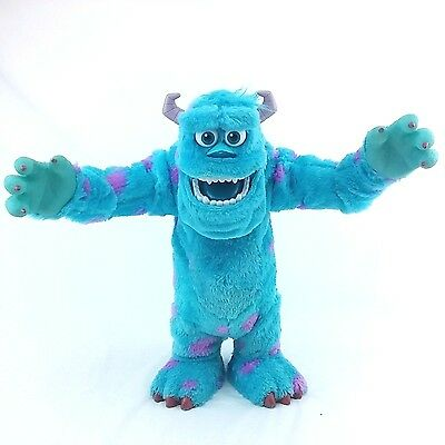 Disney Pixar Monsters University Scare Off Interactive Sulley Feature Plush Doll
