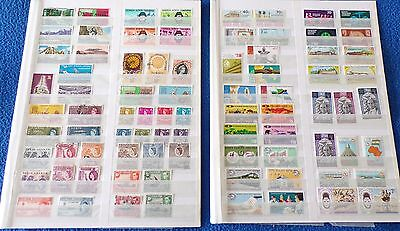 4 Pages of Kenya/Uganda stamps