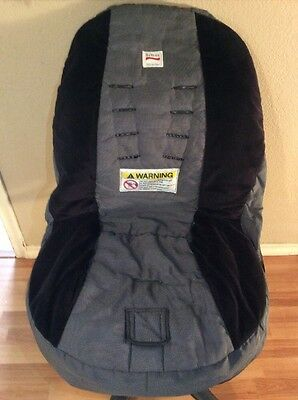 Britax Marathon Convertible Car Seat Cover Cushion Replacement Part Black Gray