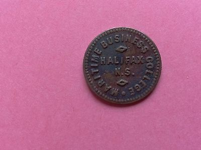 Maritime Business College Halifax NS - 1 Currency Token
