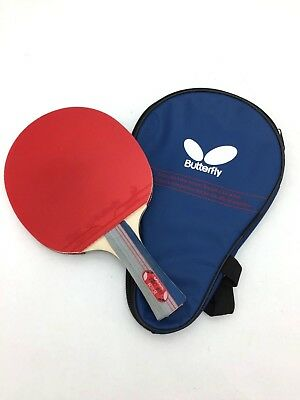 Butterfly Ping Pong Paddle - Red and Black