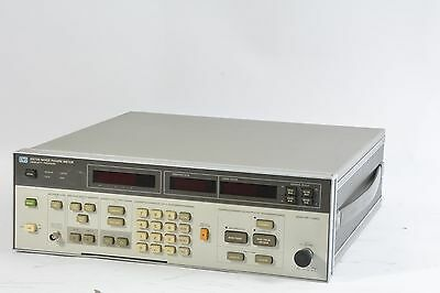HP Agilent Hewlett Packard 8970B Noise Figure Meter - Working - See Details