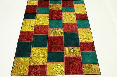 Patchwork Vintage Orient Tapis moderne multicolore Used Look 200x150