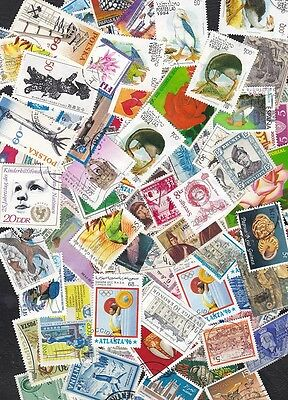 Oversea over 700 stamps .Ideal for collection