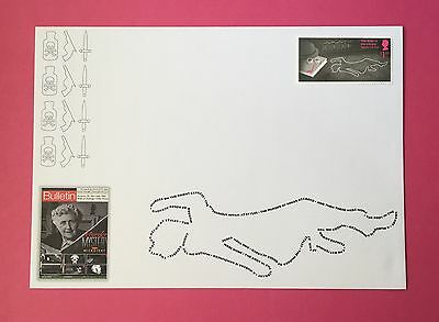 Agatha Christie Stamp Cover Souvenir 2016 – The Body in the Library