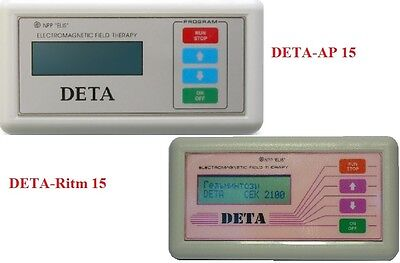Medical Devices of Electromagnetic therapy DETA AP-15 + RITM-15+Therapy 7