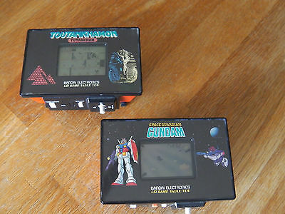 "Lcd game Bandai Table top "" Space guardian gundam  Toutankhamon "" game watch"