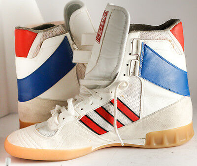 ultra rare vintage ADIDAS WEST GERMANY handball HIGH shoes sneakers liga 70s 80s