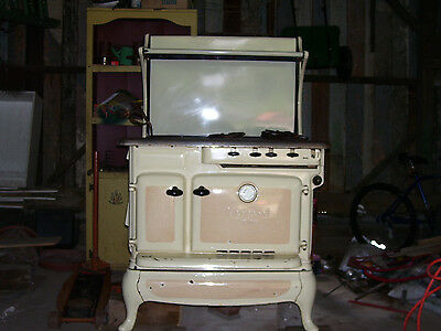 Antique Glenwood Duplex kitchen wood/gas stove