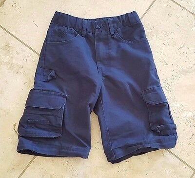 Boy Scouts of America Cub Scout Blue Adjustable Waist Zip Off Shorts