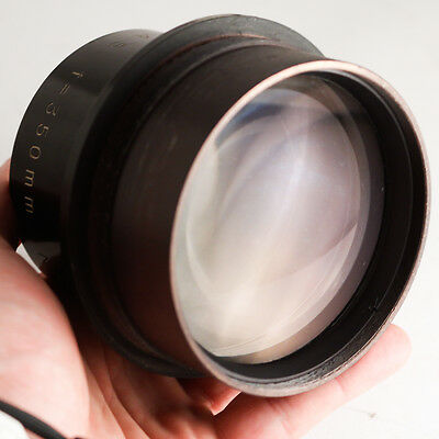 HUGE COVERAGE large format lens R.S.K CP MASTER 350MM F4.5 toyo 8x10 brass aero
