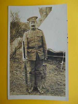 WW1 Canadian Soldier Frank Mitchell 143rd Battalion Bantams Victoria BC c1916 RP