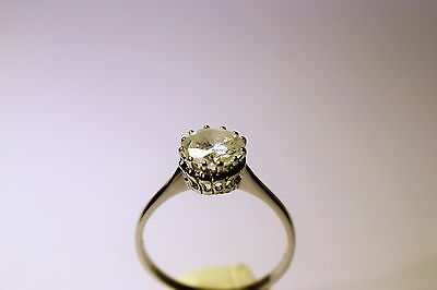 1.85ct Natural Diamond Solitaire Engagement Ring Hallmarked 18CT White Gold