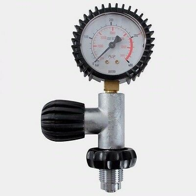 Pressure Checker Gauge Din 232 To 300 Bar New