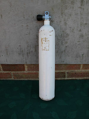 Faber 3 Litre Steel Pony Bottle 232 Bar Out Of Test Stored With Air 60 Bar