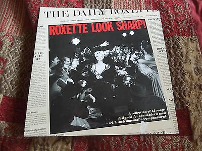 Roxette Look Sharp! RARE Vinyl LP