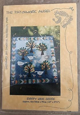 "Quilt Pattern - Lynette Anderson ""Eighty Nine Geese"""