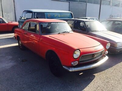 Peugeot 404 coupe Pininfarina original red extremely rare