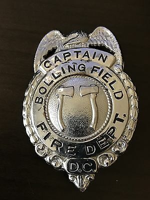 Bolling Air Force Base Fire Department Badge - Captain