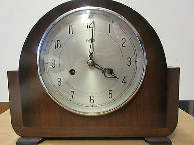 """Smiths"" Enfield Vintage Striking Mantel Clock"