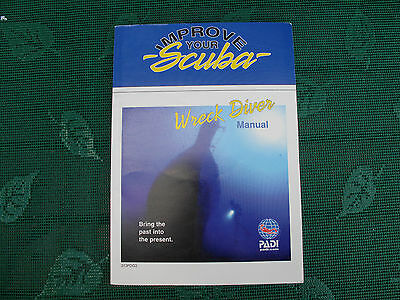 New Padi Wreck Diver Manual New Not Used As Pics Show