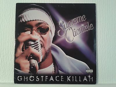 Ghostface Killah - Supreme Clientele 2xLP vinyl album / US Hip Hop 2000 Wu Tang!