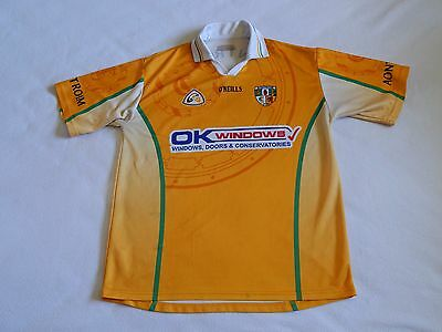 O'NEILLS ANTRIM GAA GAELIC FOOTBALL HURLING SHIRT PLAYER No.27 ,MENS LARGE