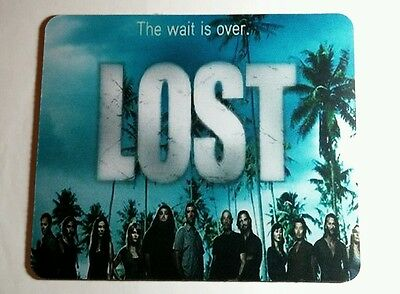 Lost Wait Is Over Tv Show Cast Computer Mouse Pad Mousepad New
