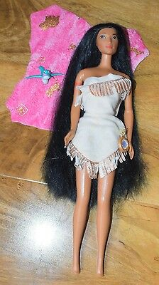 Disney Barbie Pocahontas Doll with Flick