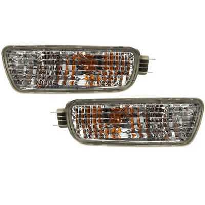 PAIR PARK SIGNAL LIGHTS LAMPS W/ LIFETIME WARRANTY fits 01-05 Ford Explorer
