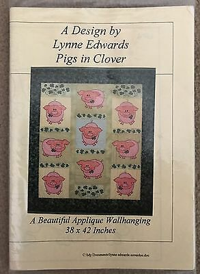 "Lynne Edwards Quilt Pattern - ""Pigs in Clover"""