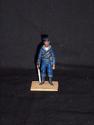 Toy Soldier Lot 39. Painted 54Mm Painted White Metal Figure.