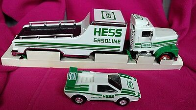 Hess Toy Truck and Racer-Original box 1991