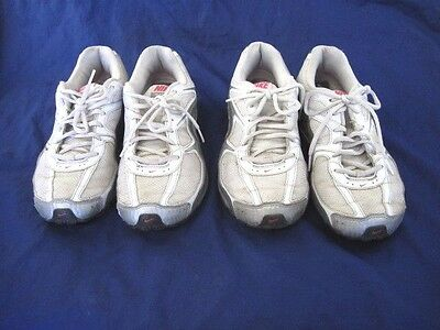 Nike 10M  Reax white silver pink running womens ladies athletic tennis shoes