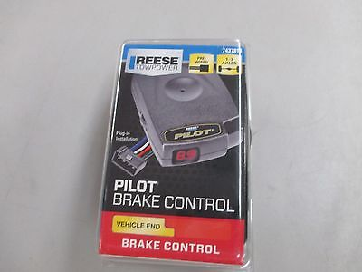 Reese Towpower Pilot Brake Control 7437811 NEW Free Shipping