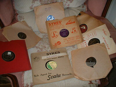 78RPM RECORDS FROM THE 1950s-SET OF EIGHT(set 31)