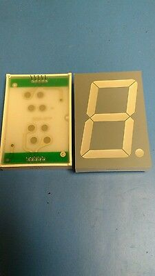 New and unused Large 2 1/4 inch 7-segment red display ( 1 Piece)