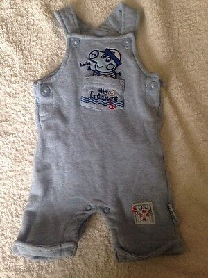 Peppa Pig For Baby George Romper Age 3-6mths Blue