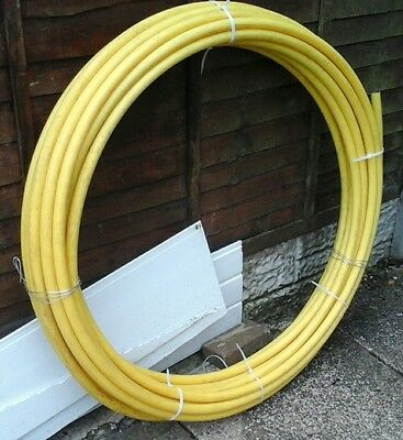 MDPE YELLOW GAS PIPE 25mm. 45m. BRAND NEW