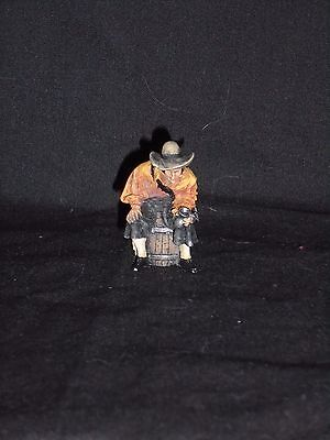 Toy Soldier Lot 56. Painted 54Mm Painted White Metal Figure.