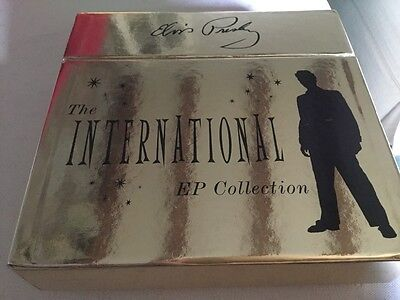 Elvis Presley boxed EP collection 45 (11 records ) never played ideal gift