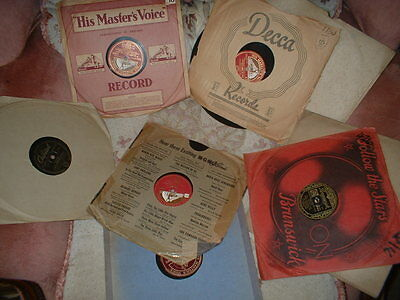 78RPM RECORDS OF JAZZ/SWING-SET OF EIGHT(set 32)