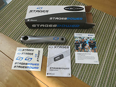 stages power meter shimano 172.5