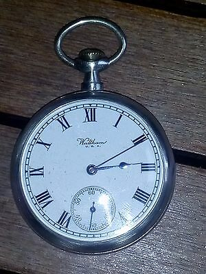 Waltham US Navy Pocket Watch, year 1,928 - Working properly