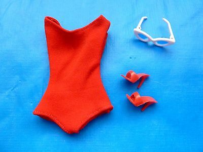 Vintage Barbie Original Swimsuit #850 (1962) Exc & Complete
